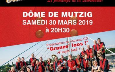 "Concert ""Le Printemps de la Bloosmusik"" – Dôme de Mutzig – Samedi 30 mars"